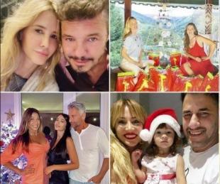 foto: Los mensajes y las fotos de los famosos que festejan Navidad