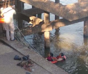 foto: Goya: cayó a un riacho, pidió auxilio y fue rescatada por Prefectura