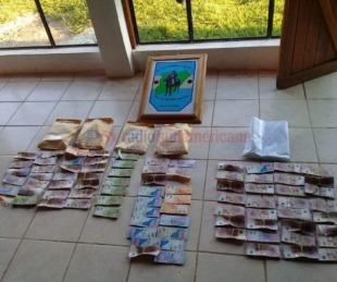 foto: Viajaba con un bebé y más de 600 mil pesos que no pudo justificar