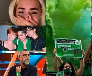 foto: Los mensajes de los famosos por la legalización del aborto en Argentina