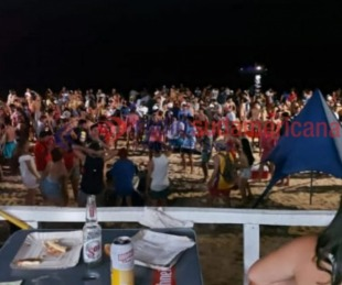 foto: Videos: Fiesta y descontrol en varias playas del interior