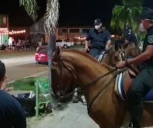 foto: Paso de la Patria: Policía patrulló las playas para evitar aglomeraciones