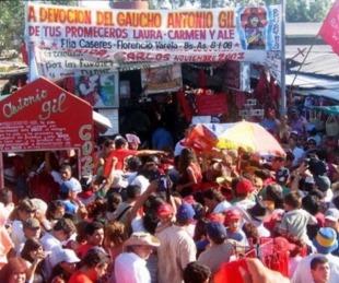 foto: No permitirán permanencia ni acampe en el predio del Gauchito