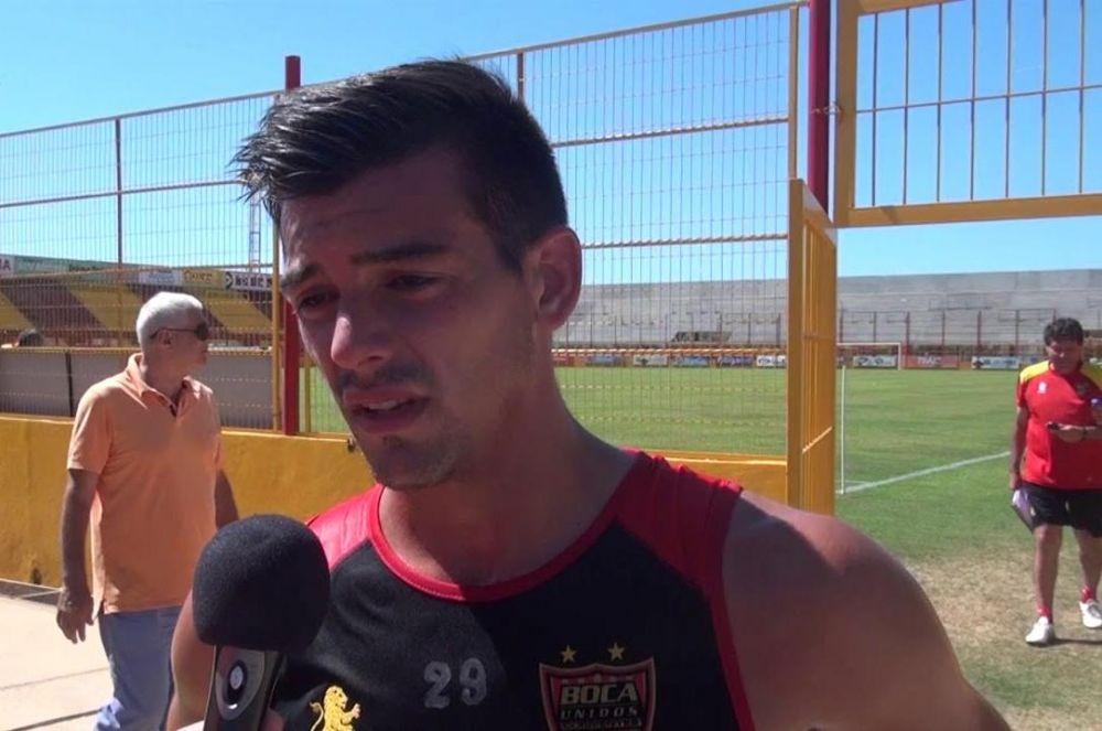 Chicho Herrera deja Boca Unidos y desembarca en el fútbol griego