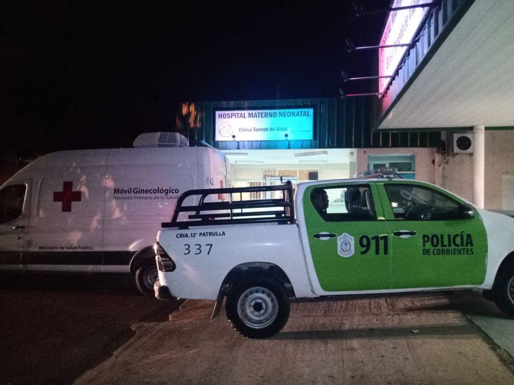 Policías salvaron a un bebé de 29 días tras realizar maniobras de RCP