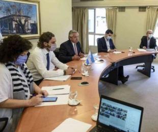 foto: Fernández propuso a gobernadores cierre de actividades de 23 a 6