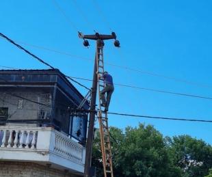 foto: Por trabajos, no habrá luz en algunos barrios de la Capital