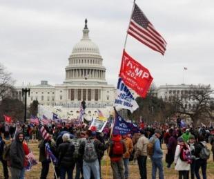 foto: Seguidores de Trump ingresaron al Capitolio para evitar la victoria de Biden