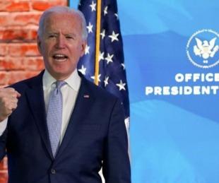 foto: Tras violenta jornada, el Congreso certificó a Biden como presidente