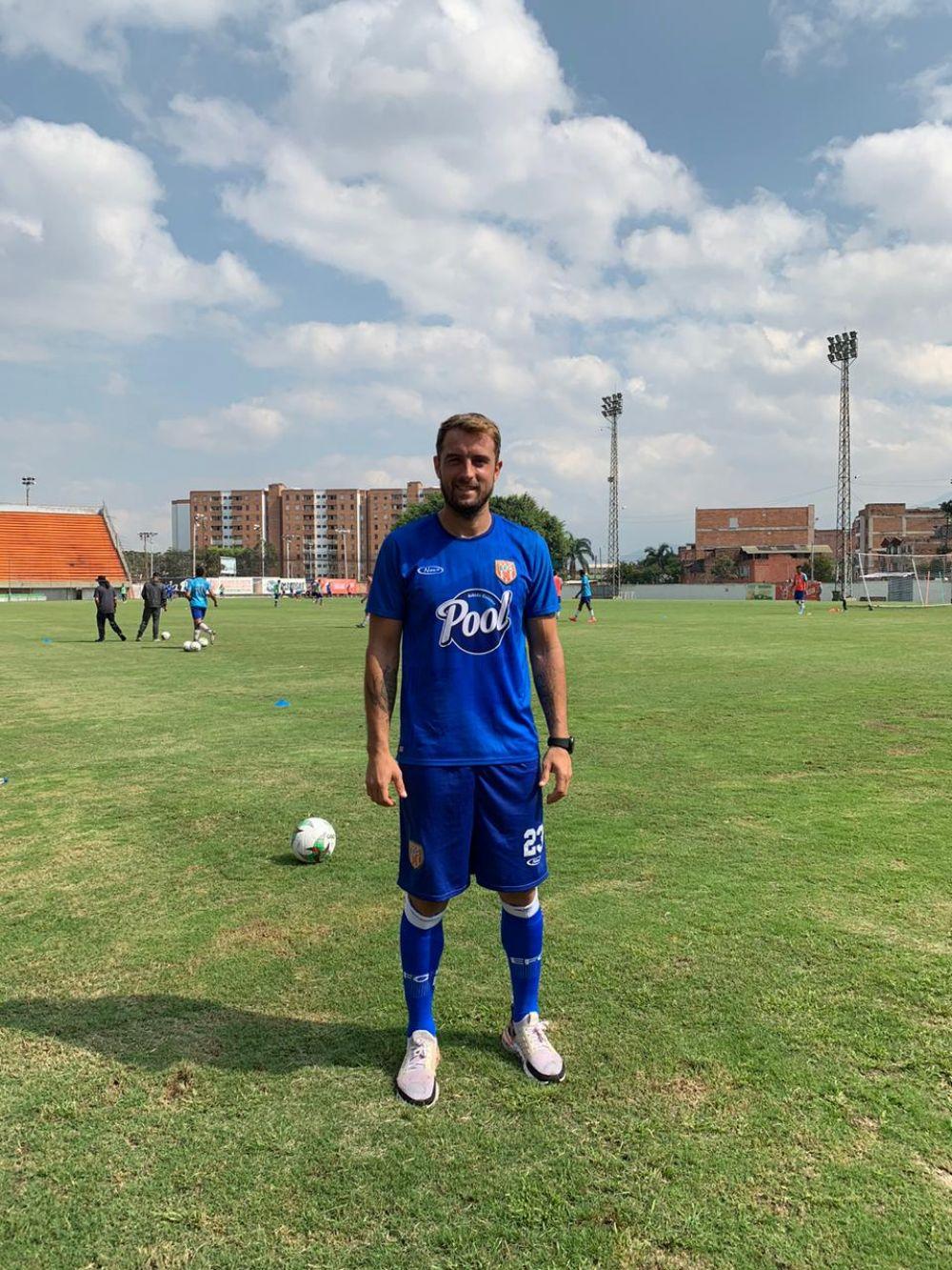 Un sancosmeño llegó a la Primera División de Colombia