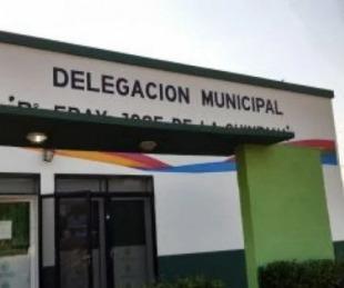 foto: Robaron objetos de la delegación municipal del Barrio Quintana