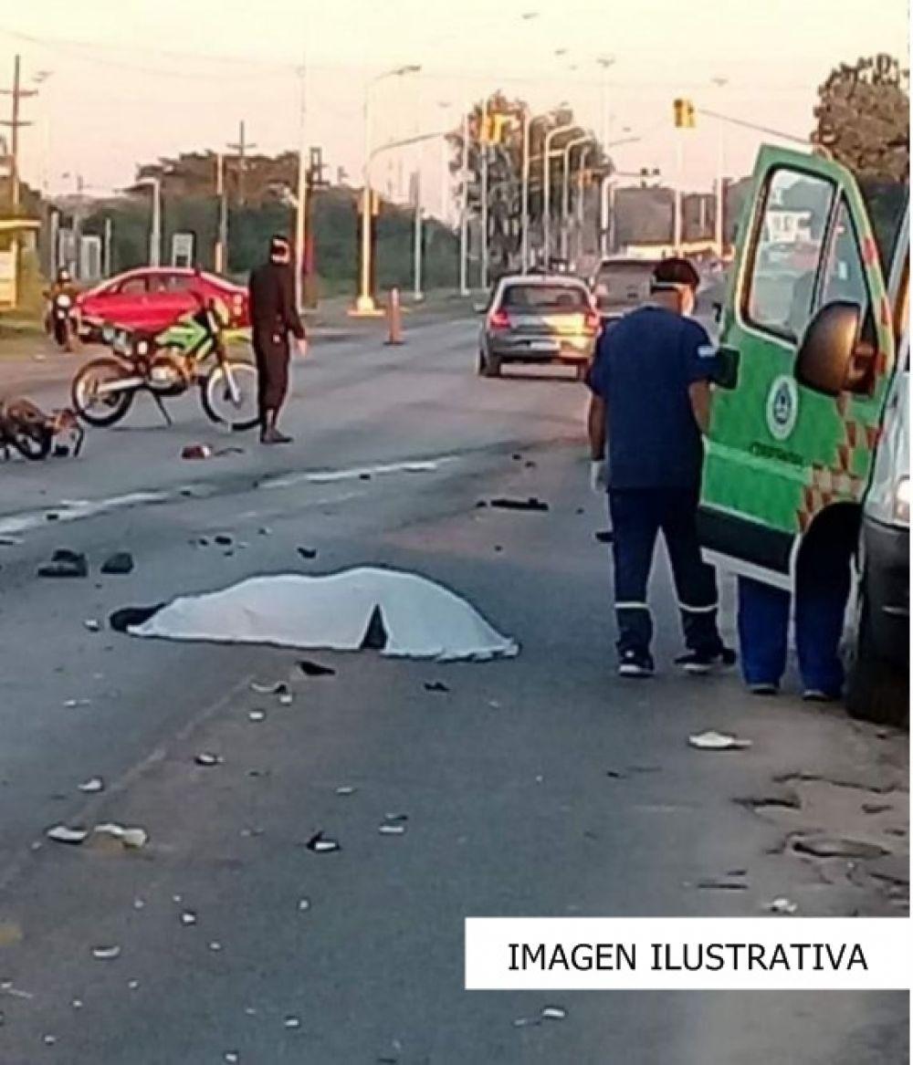 Una mujer falleció tras ser atropellada por un automóvil