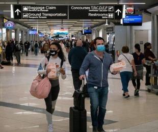 foto: Estados Unidos exigirá un test PCR negativo para poder ingresar al país