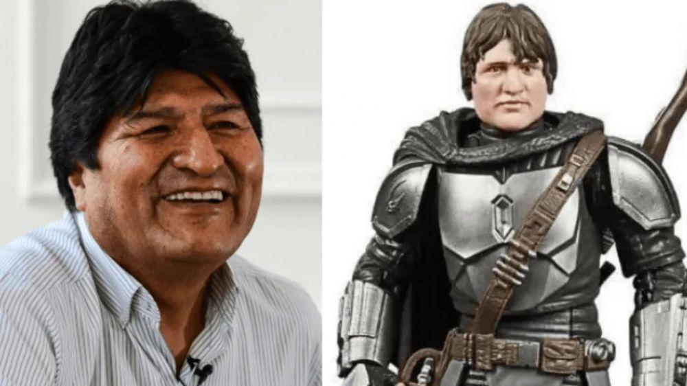 Lanzaron juguete de Star Wars parecido a Evo Morales y estallaron las redes