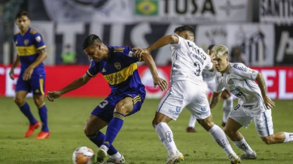 Boca cayó sin atenuantes 3-0 ante Santos y quedó eliminado