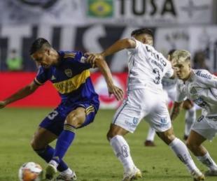 foto: Boca cayó sin atenuantes 3-0 ante Santos y quedó eliminado