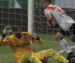 River hizo todo pero le faltó un gol y Palmeiras es finalista