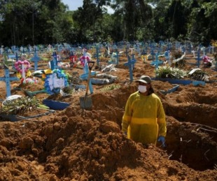 foto: El mundo superó los dos millones de muertos por COVID-19
