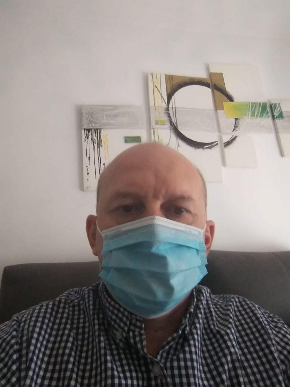 La internación fue traumática, quería ser un analfabeto de la medicina