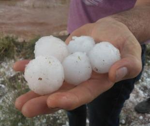 foto: Mendoza: feroz temporal de lluvia y granizo provocó destrozos