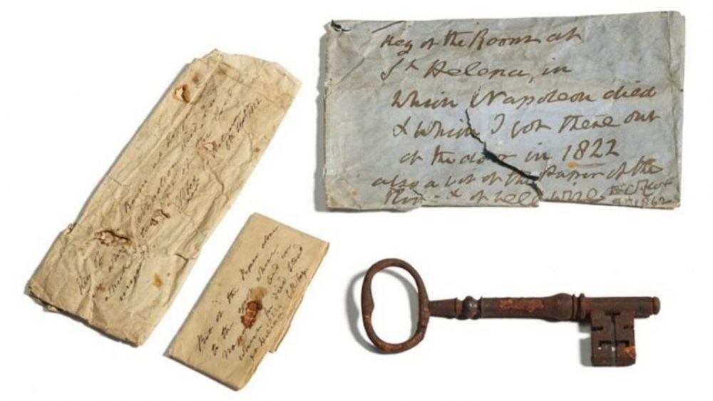 Subastaron la llave de la prisión donde murió Napoleón