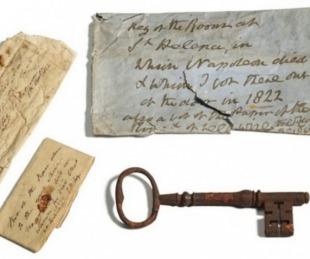 foto: Subastaron la llave de la prisión donde murió Napoleón