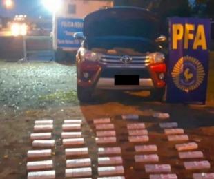 foto: Quiso evitar un control y lo detuvieron con 500 atados ilegales