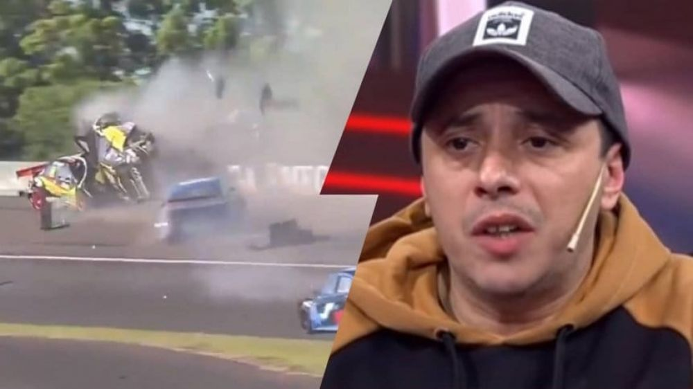 Video: el Dipy sufrió un impactante accidente en el Top Race