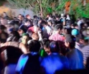 foto: Policías suspendieron dos fiestas clandestinas en Santa Rosa