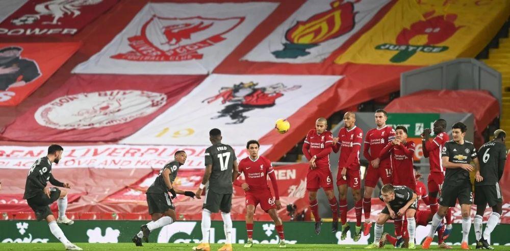 Liverpool y Manchester United empataron 0-0 en un gran partido