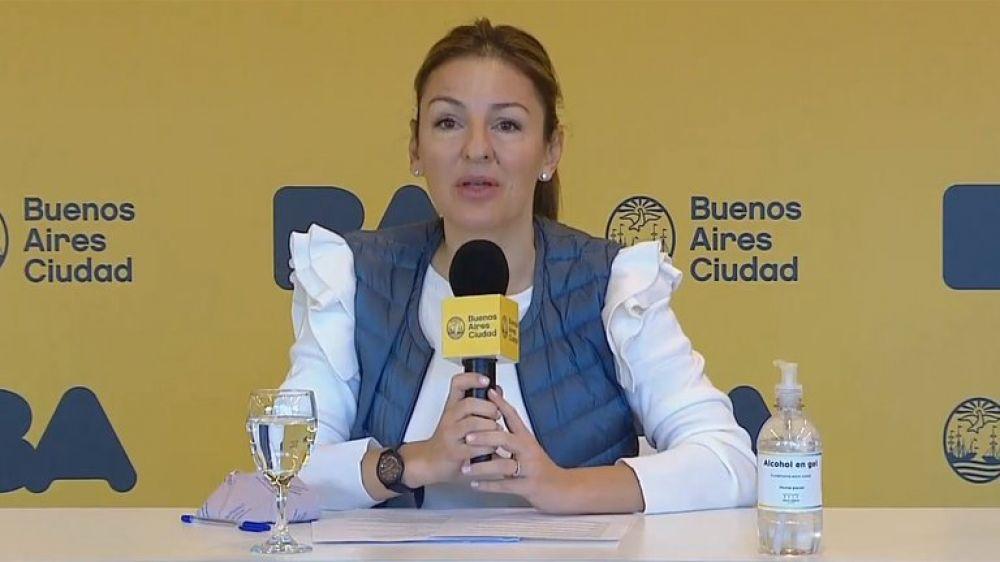 La ministra de Educación porteña Soledad Acuña tiene coronavirus