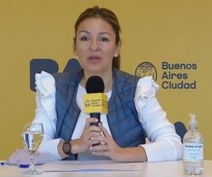 foto: La ministra de Educación porteña Soledad Acuña tiene coronavirus
