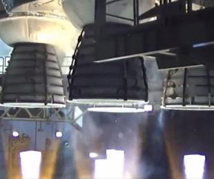 VIDEO: NASA realiza una prueba del cohete más potente jamás construido