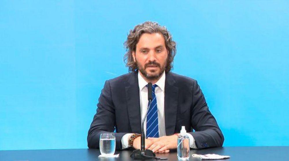 Santiago Cafiero: No pensamos en volver a una cuarentena estricta