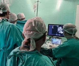 foto: Operaron del corazón a un feto de 32 semanas de manera exitosa