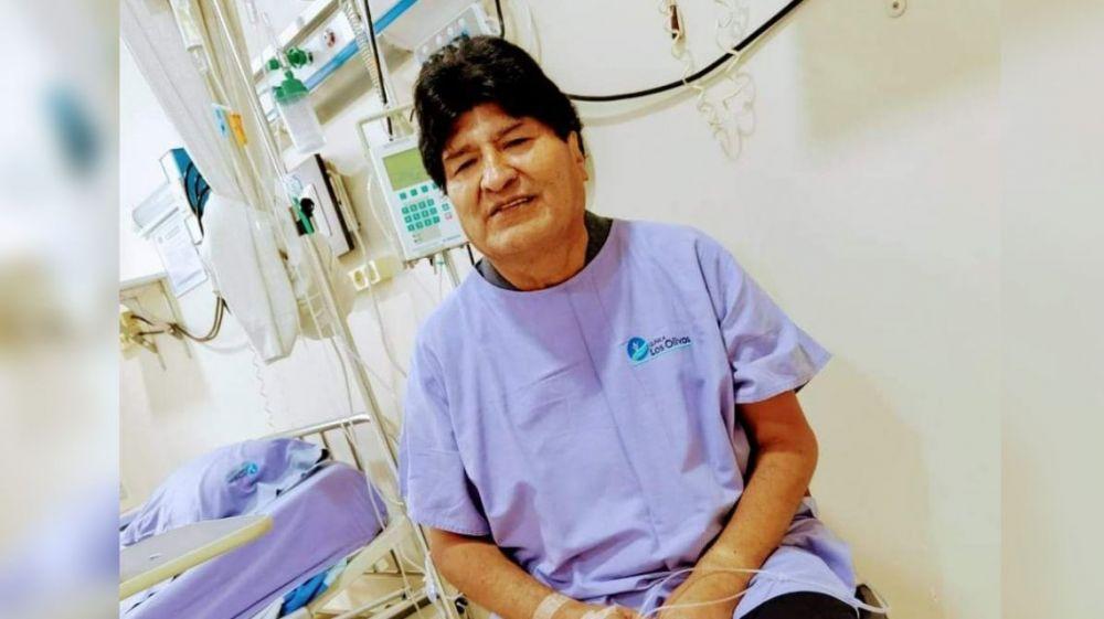 Evo Morales fue internado por coronavirus en Bolivia