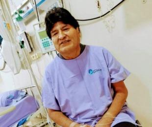 foto: Evo Morales fue internado por coronavirus en Bolivia