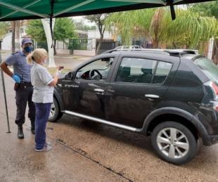 foto: Fueron detenidas al ingresar con resultados de hisopados truchos