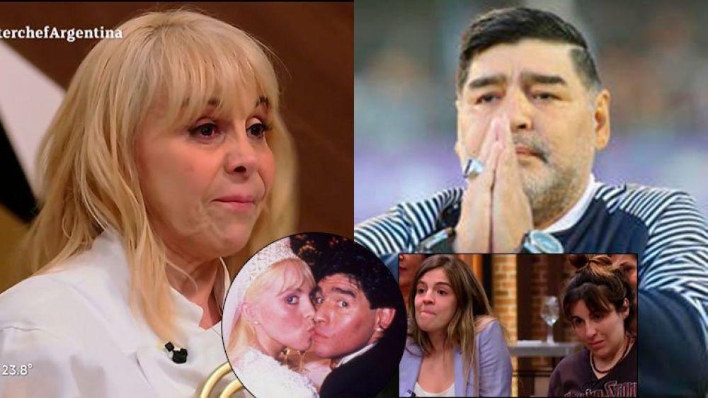 La emotiva dedicatoria de Claudia Villafañe a Diego Maradona al ganar MasterChef