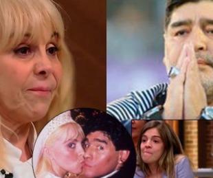 foto: La emotiva dedicatoria de Claudia Villafañe a Diego Maradona al ganar MasterChef