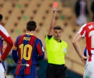 foto: Se conoció la sanción a Messi por golpear a un rival