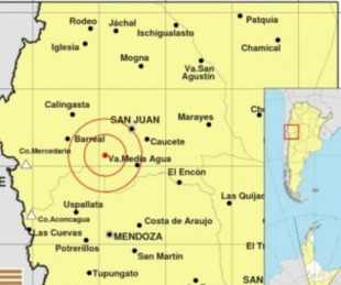 foto: San Juan: Se registró un terremoto de 6.4 grados en la escala Richter