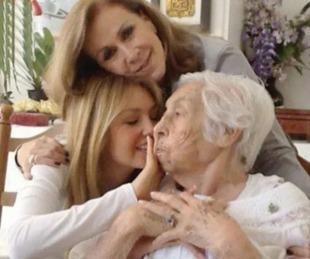 foto: La abuela de Thalía y Laura Zapata fue maltratada en el geriátrico