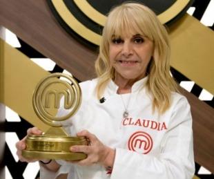 foto: Claudia Villafañe es la gran campeona de MasterChef Celebrity