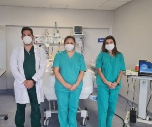 foto: Nuevo operativo de ablación multiorgánica en el Hospital Escuela