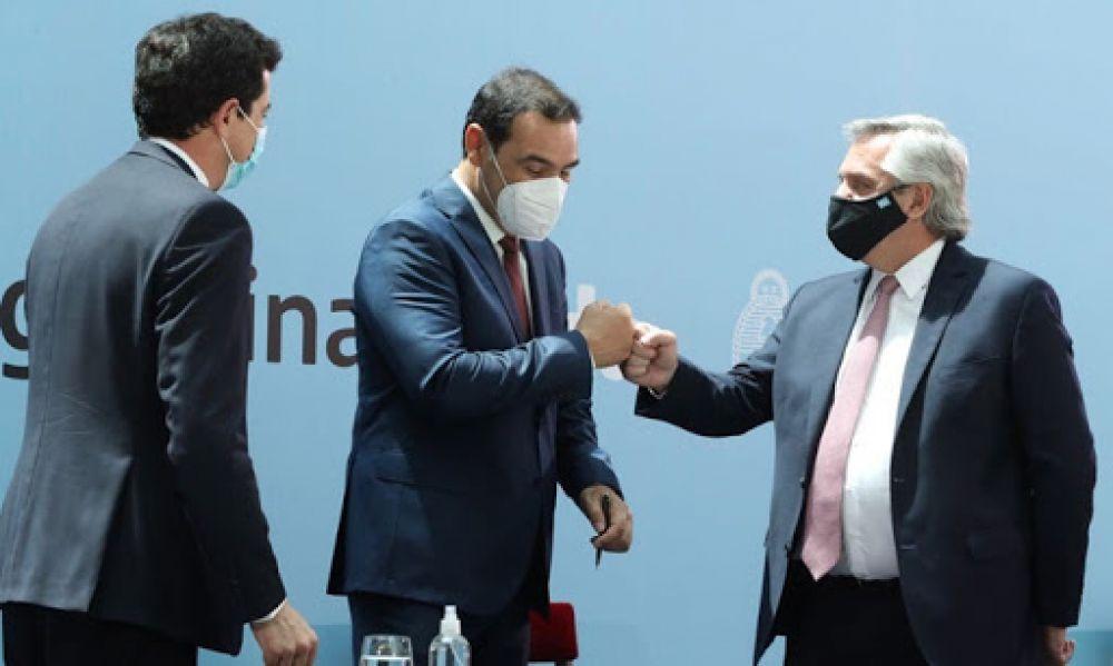 Valdés estará en la reunión del Presidente con gobernadores del norte