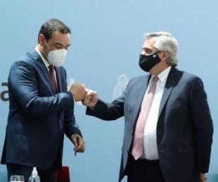 foto: Valdés estará en la reunión del Presidente con gobernadores del norte