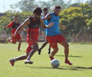 foto: Boca Unidos ante Rosario Central por la Copa Argentina