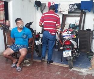 foto: Allanaron un domicilio y detuvieron al presunto autor de varios robos