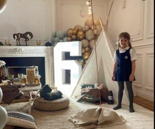 foto: El especial festejo de Wanda Nara por los 6 años de su hija Francesca